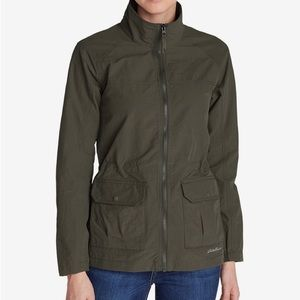 Eddie Bauer Travex Atlas Jacket -Small Slate Green